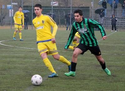 SImone Guzzo, attaccante classe 1999, ha gonfiato il sacco sia con il Gardolo che sul campo dell'Aquila Trento