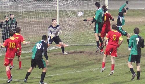 L'inzuccata di Concli, nella finalissima della stagione 2013/14, che permise ai gialloneroverdi di Zoller la conquista della prima Coppa Italia proprio con il Borgo