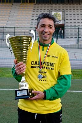Davide Montagni, alla seconda stagione sulla panchina della nostra Juniores Elite, ha guidato Carollo e compagni alla conquista del quarto titolo consecutivo
