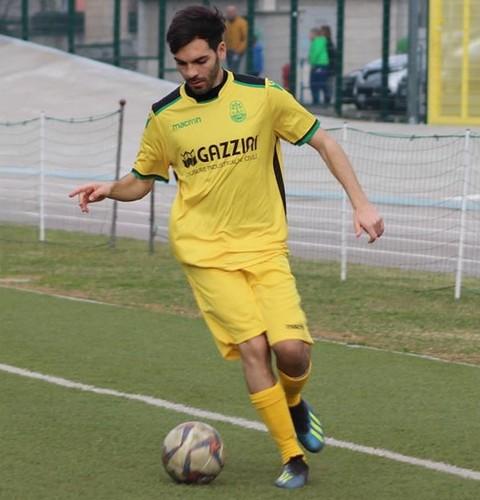 Kevin Marchione, a digiuno da cinque partite, va a caccia del suo 10° gol in maglia gialloneroverde (Foto FootballHazardStudio)