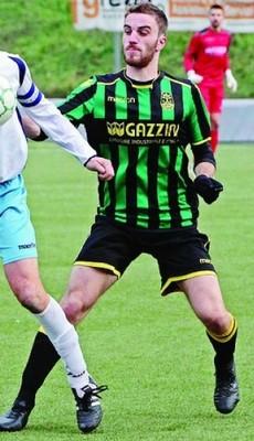 Simone Dal Fiume, difensore classe 1996, è alla sua settima stagione di fila in tricolore