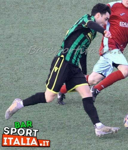 Primo gol in maglia tricolore per Matteo Degasperi che ha firmato l'importantissima vittoria del Mori Santo Stefano sul campo del San Paolo (Foto a cura di BarSportItalia)