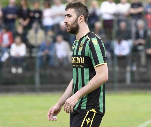 Prestazione attenta e puntuale per Nicola Dal Fiume, arcigno difensore centrale gialloneroverde