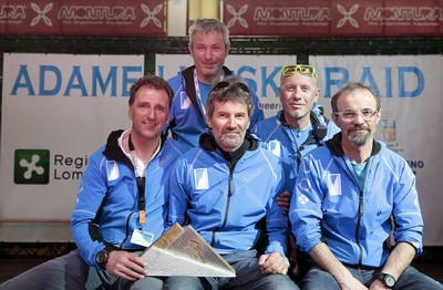 Lo staff dell'Adamello Ski Raid