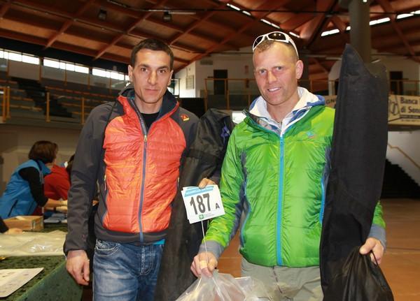 I primi ad accreditarsi: Mauro Fazzini e Domenico Gianola