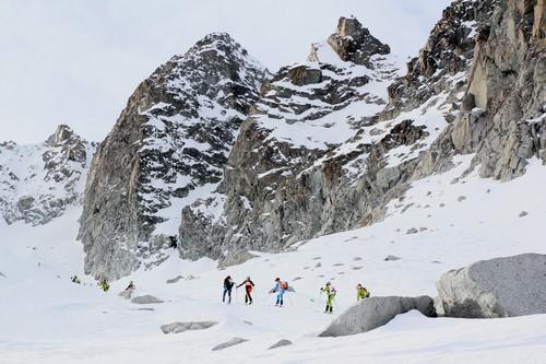 Una foto dell'edizione 2015 dell'Adamello Ski Raid Junior