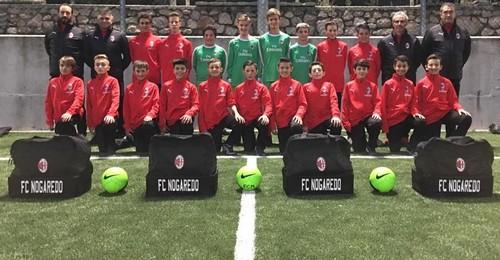 La squadra Giovanissimi Under 14 del Nogaredo, ancora a punteggio pieno