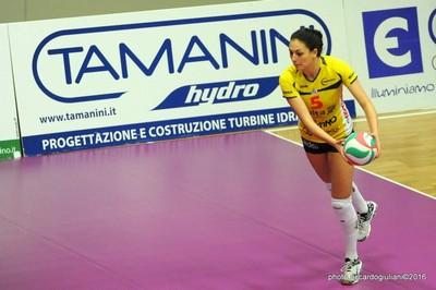 Francesca Michieletto dalla linea dei nove metri (foto Riccardo Giuliani)
