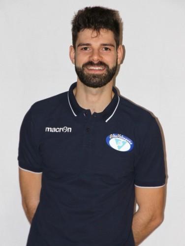 Il coach dell'Alta Valsugana Andrea Cestari