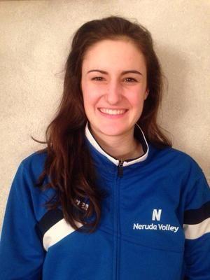 Isabel Prast del settore giovanile del Neruda Volley