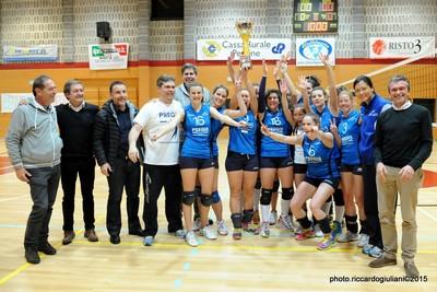 Il C9 Arco Riva femminile è campione in carica (foto Riccardo Giuliani)