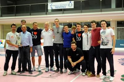 I festeggiamenti per la Supercoppa del C9 La Fattoria