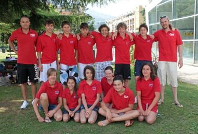 La rappresentativa del Trentino per l'edizione 2012