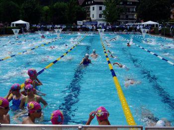 La piscina di Molveno