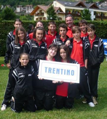 La rappresentativa del Trentino