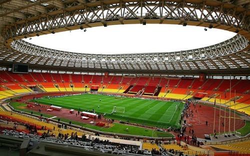 Lo stadio Luzhniki di Mosca, che ospiterà la finale dei Mondiali