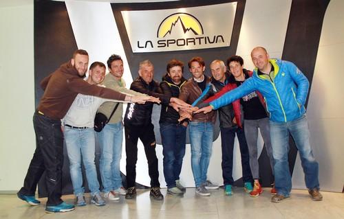 Ecco lo staff con i Comitati Organizzatori di Trentino Vertical Circuit
