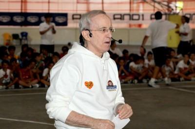 Coach Dan Peterson torna a Folgaria