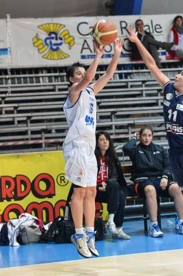Ilaria Bonvecchio al tiro