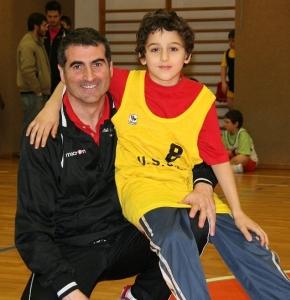 Gigi col figlio Matthias