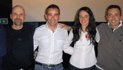 Aurelio Laino, Simone Faggioli, Gabriella Pedroni e Christian Merli