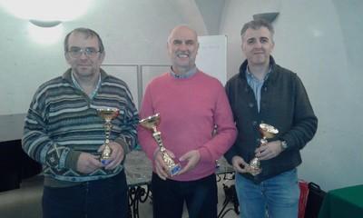 Nel 2° gruppo vince Roberto Terzi davanti ad Ezio Valentini ed Ivano Pergher