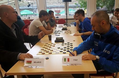 La squadra italiana composta da Riccardo Agosti, Davide Marchegiani e Francesco Militello