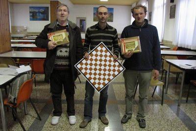 Rodolfo de Concini, Riccardo Agosti e Diego Tranquillini