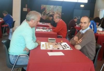 Giovani Fava gioco con Riccardo Agosti - foto Pantua