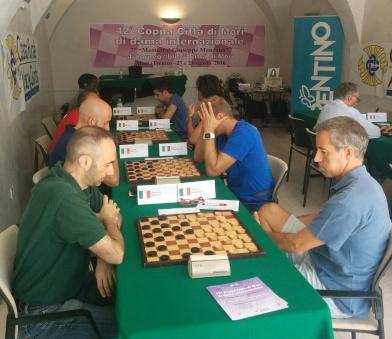 Un'immagine di gioco del torneo