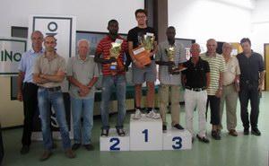 Il podio della scorsa edizione