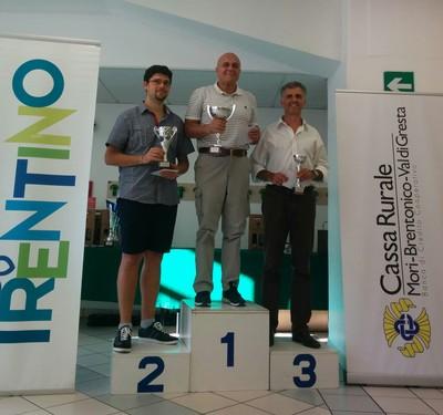 Sergio Pastrovicchio precede Simone Nappi e Ivano Pergher
