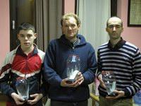 Da sinistra a destra Stefano Valentini, Diego Tranquillini e Riccardo Agosti