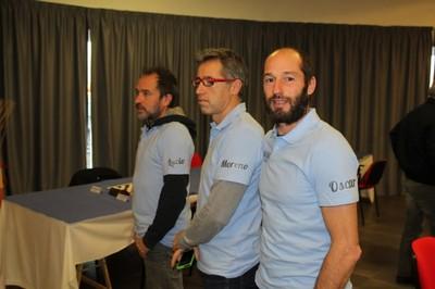 la squadra di Bergamo con Lucio, Moreno e Oscar Manzana