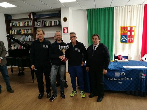 Da sinistra a destra Diego Tranquillini, Moreno Manzana e Riccardo Agosti