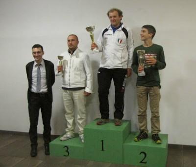 Al primo posto Diego Tranquillini, al secondo il giovanissimo Damiano Leonardi