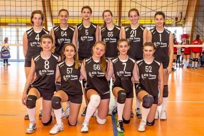 L'Ata Studio55 Under 14 terza al torneo di Verona (foto Walter Lazzarotto)