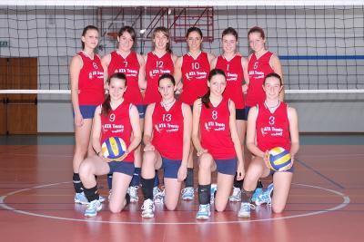 Le ragazze dell'under 16 hanno disputato un'ottima stagione (foto De Benedetto)