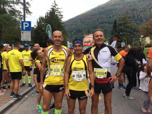 Stefano, Mario e Sotir prima della partenza