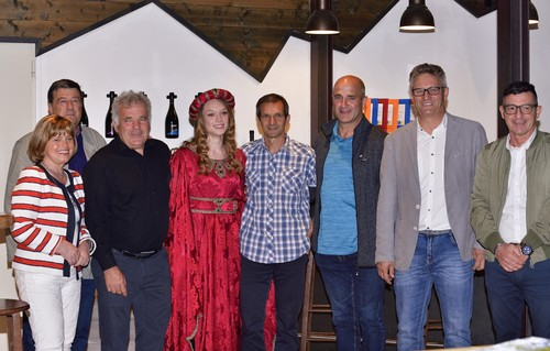La presentazione della Tourlaghi al birrificio Rethia di Vezzano