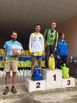 Michele Fagnoni, 5° della categoria SM