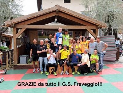 I vincitori del TourLaghi con il G.S.Fraveggio