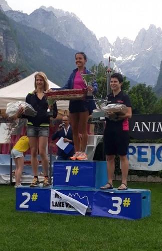 Maddalena sul podio femminile 20km