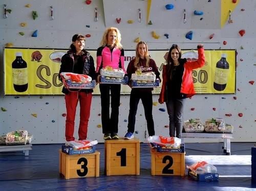 Premiazioni cat. femminile under100