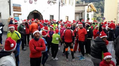La partenza di Rin...corri Babbo Natale a S.Massenza
