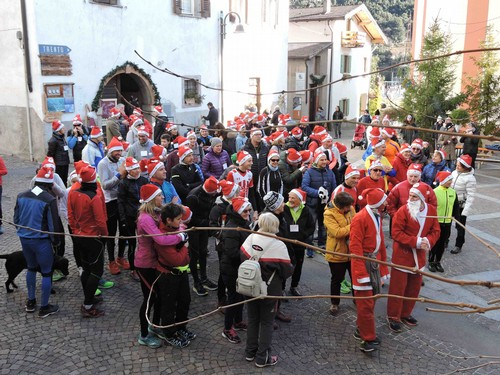 Partenza della Rincorri Babbo Natale