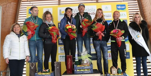 Eugenia+Claudio e Maddalena+Walter podio staffette miste