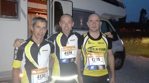 Domenico, Stefano e Paolo prima della partenza