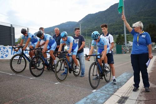 Il quartetto dell'Uc Valle di Non (foto Mauro Mendini)