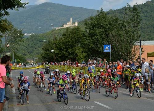 La partenza di una delle corse disputate oggi a Borgo (foto D. Mosna)